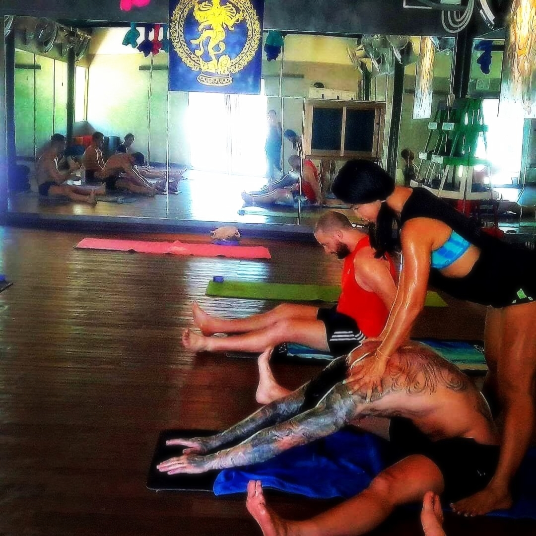 Hot Yoga Therapy, Stretching Meditation, Yoga for fighters, yoga for muay thai, Yoga in Phuket Thailand.