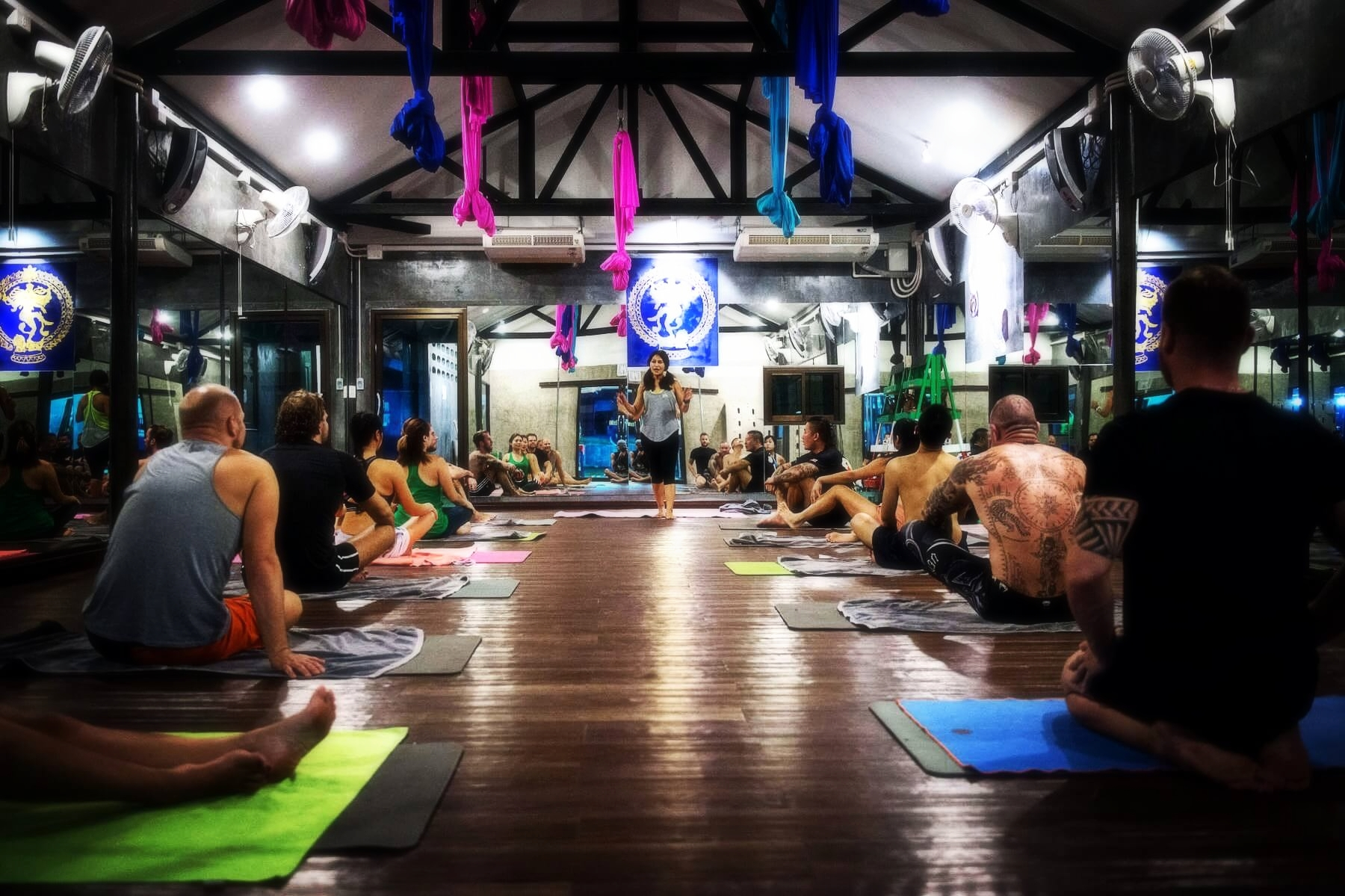 Hot Yoga for Muay Thai Fighters in Phuket Thailand, Hot Yoga for crossfit in Thailand, 5 Elements Hot Yoga Phuket, Chalong Thailand.