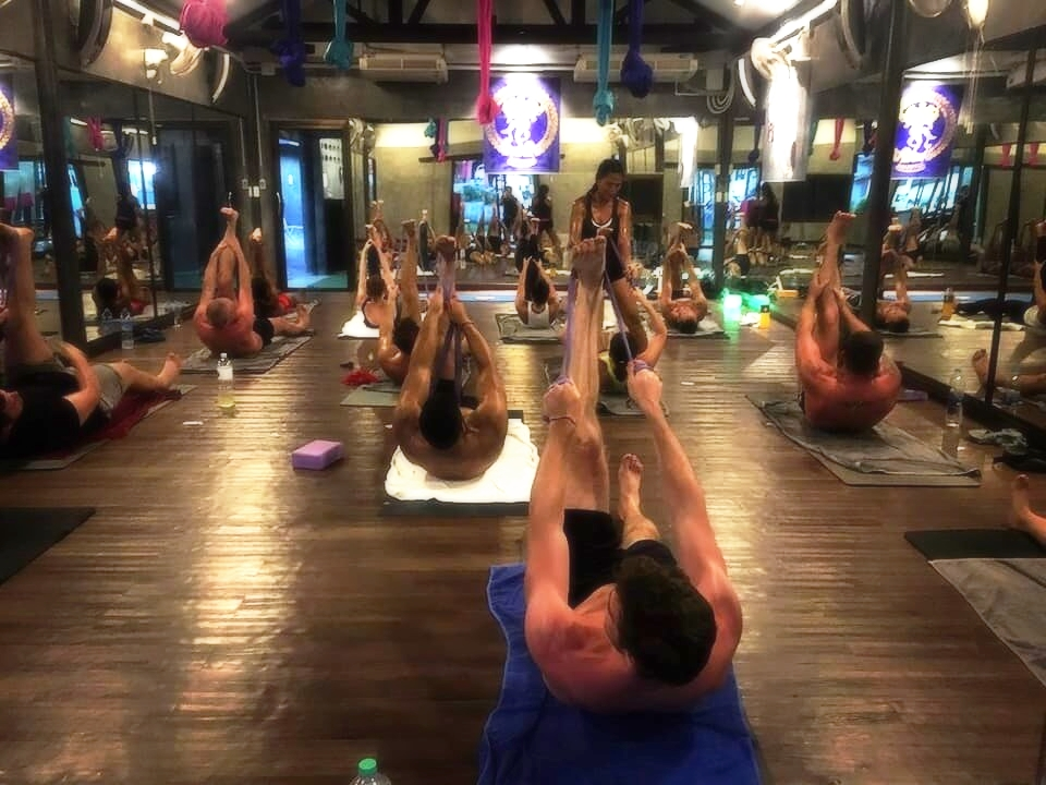 The best hot yoga class, hot yoga therapy, wellness therapy classes in Phuket, Thailand offered by 5 Elements Hot Yoga Resort.