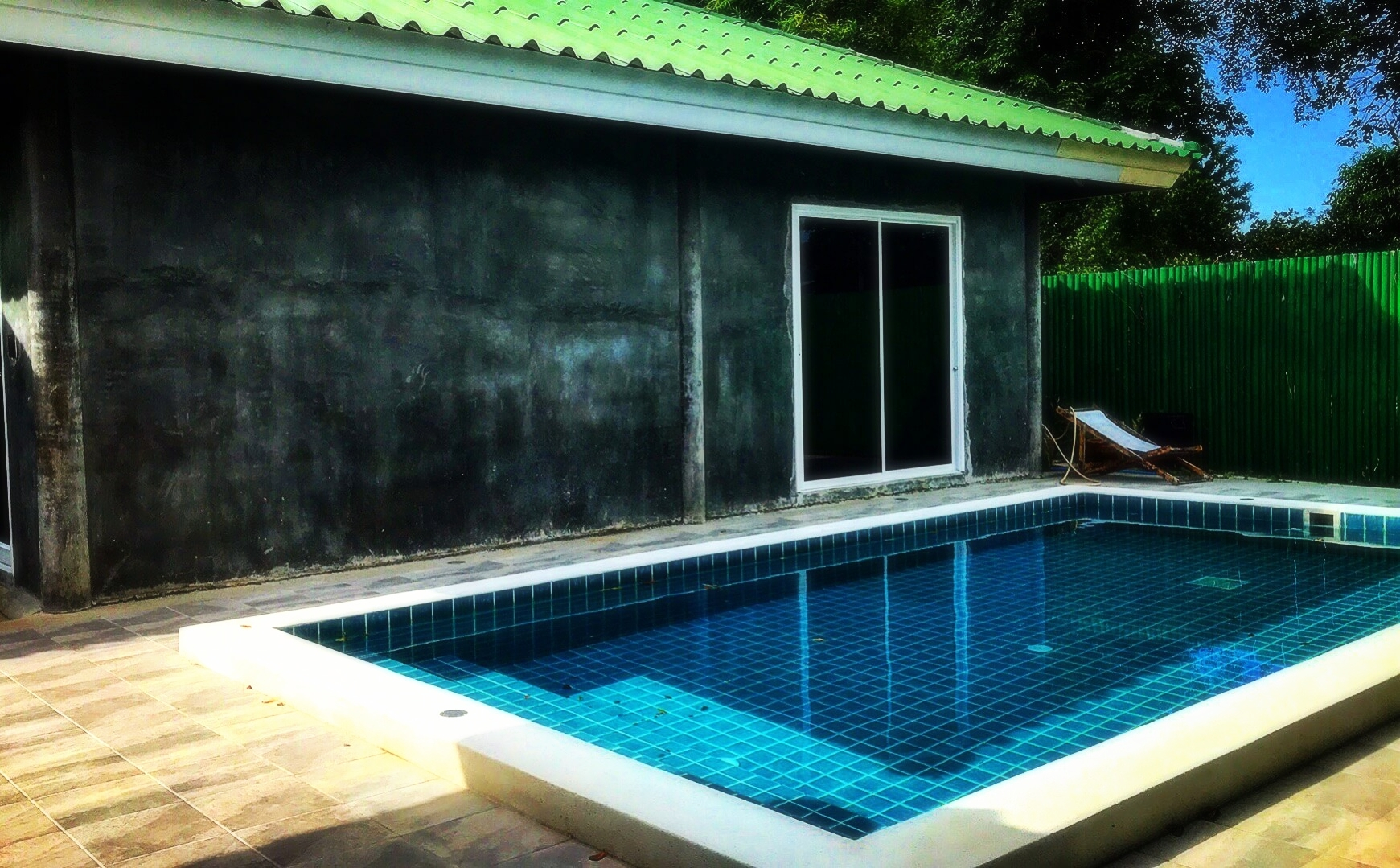 Private Pool Side Villa at 5 Elements Hot Yoga Resort in Phuket Thailand.