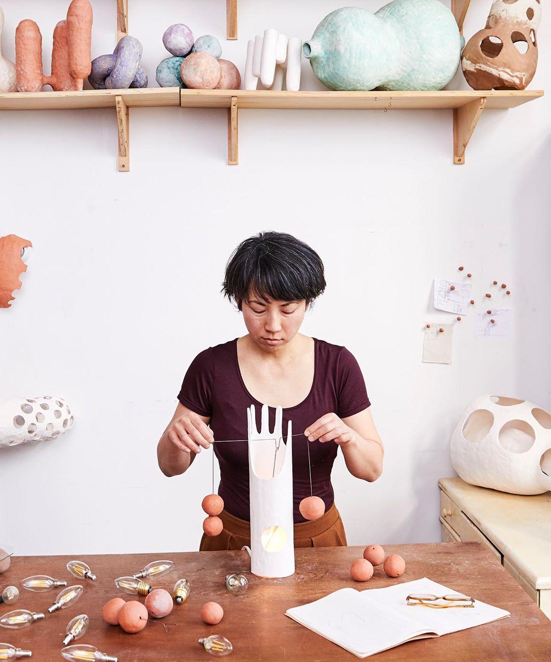 Brooklyn ceramicist Yuko Nishikawa