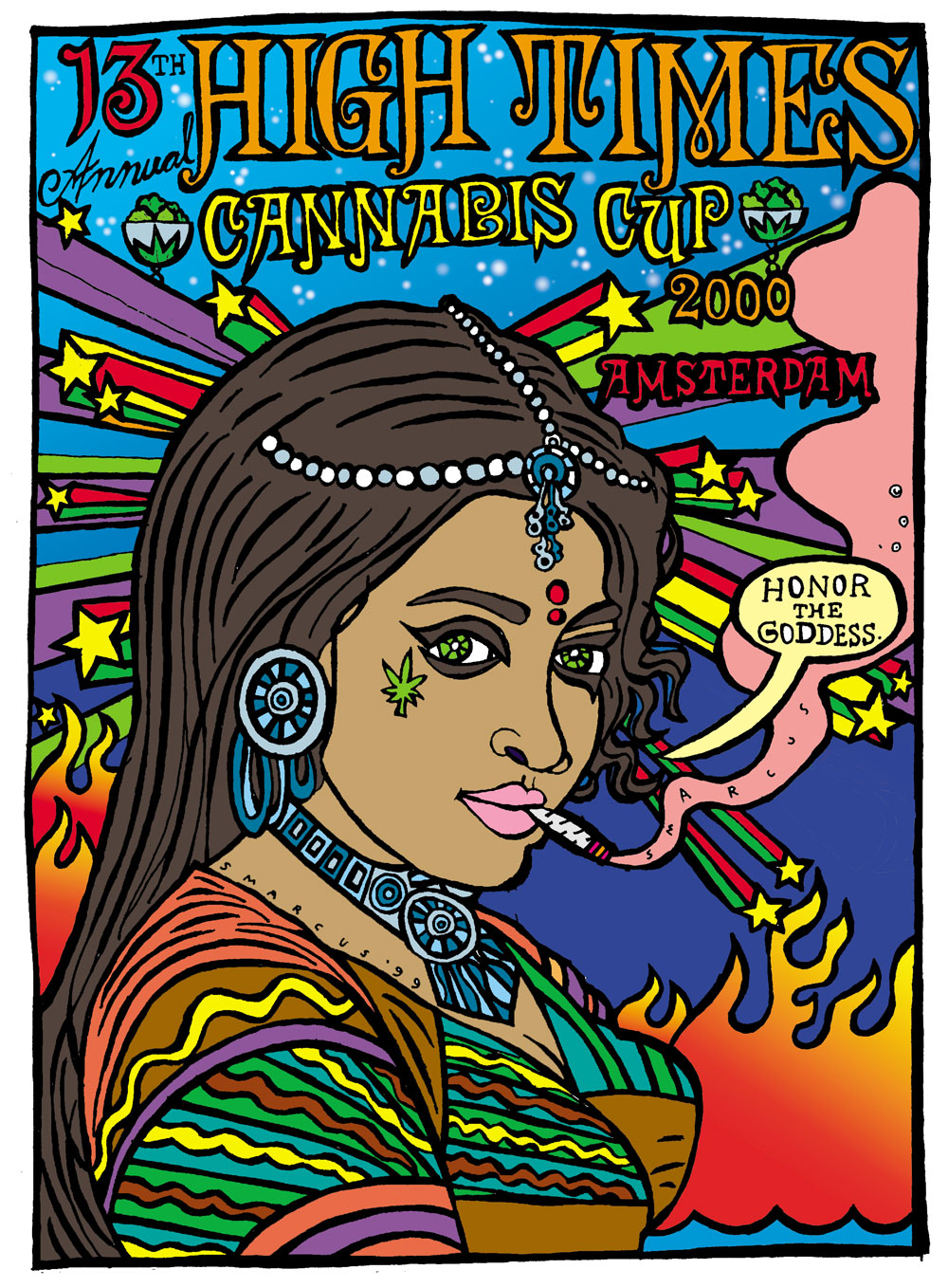 High Times Cannabis Cup Poster