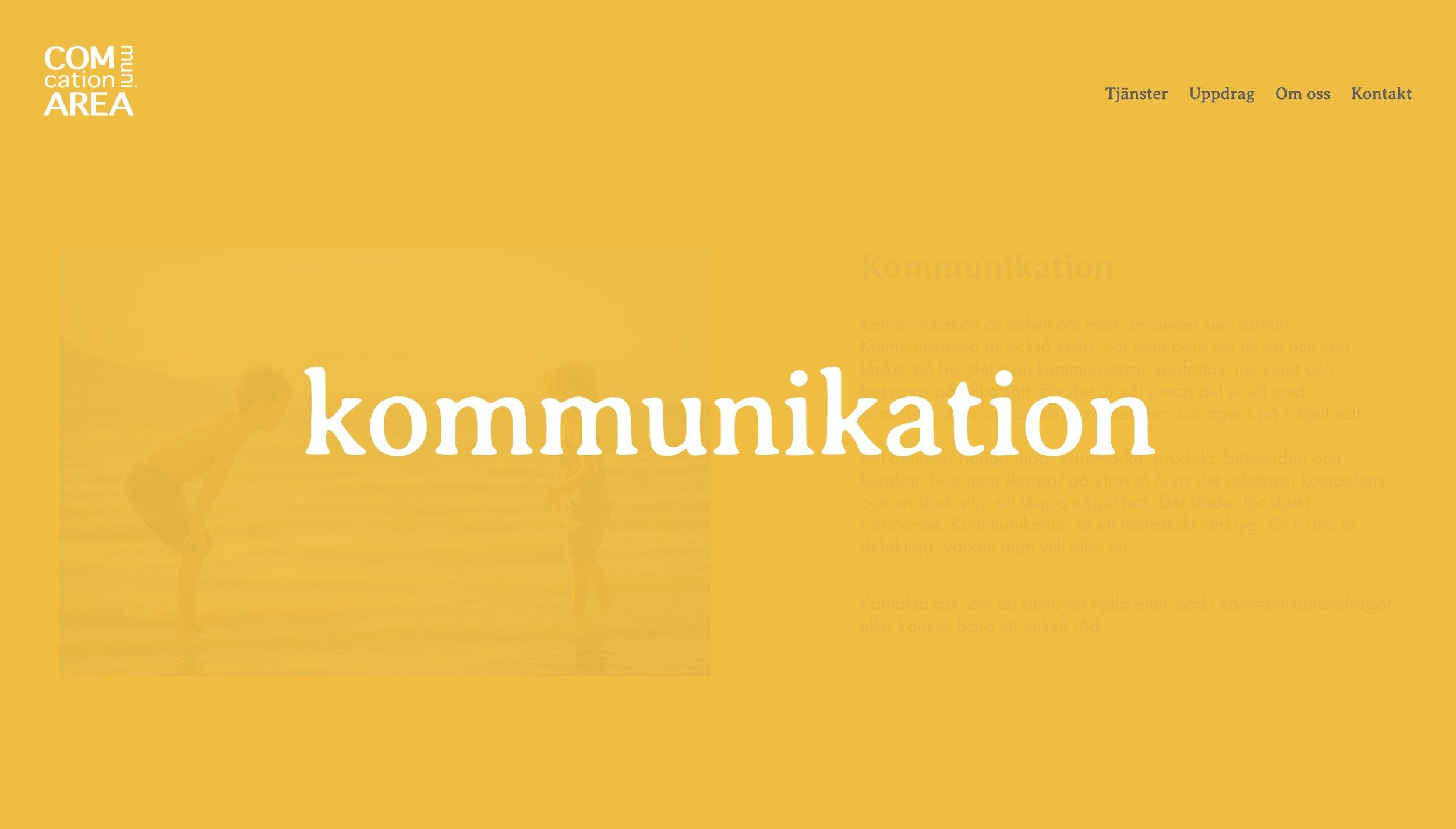 framtidens-webbyrå-hemsida-uppdrag-communication-area-startsida