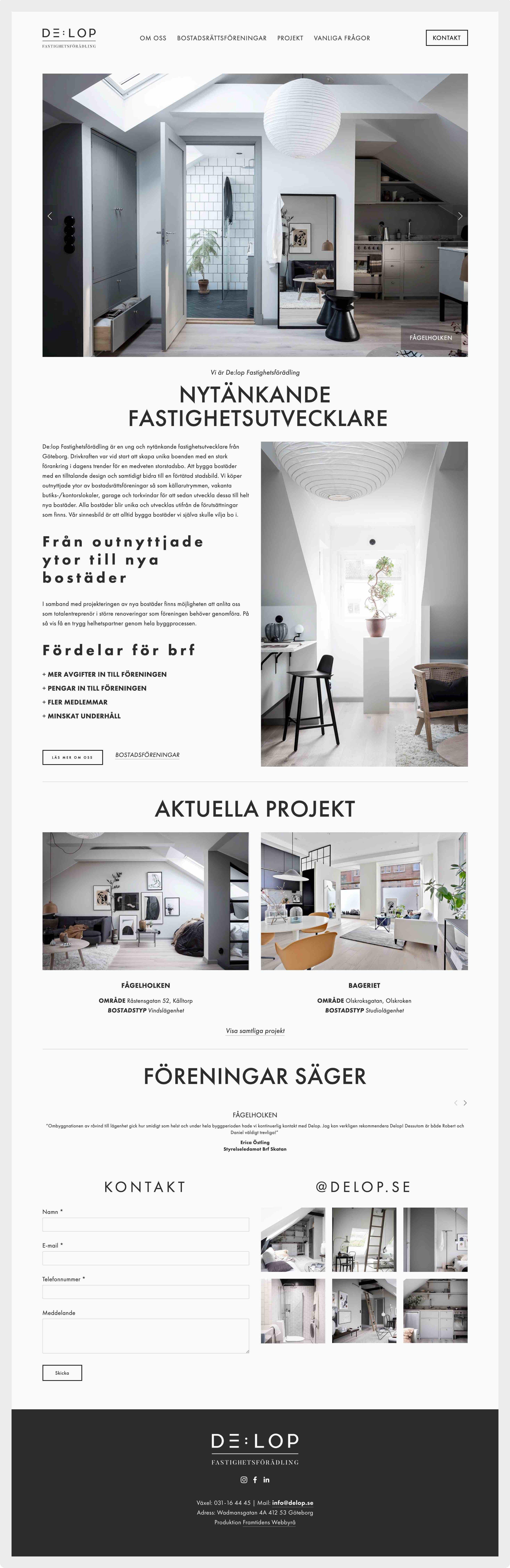 framtidens-webbyrå-hemsida-uppdrag-delop-startsida