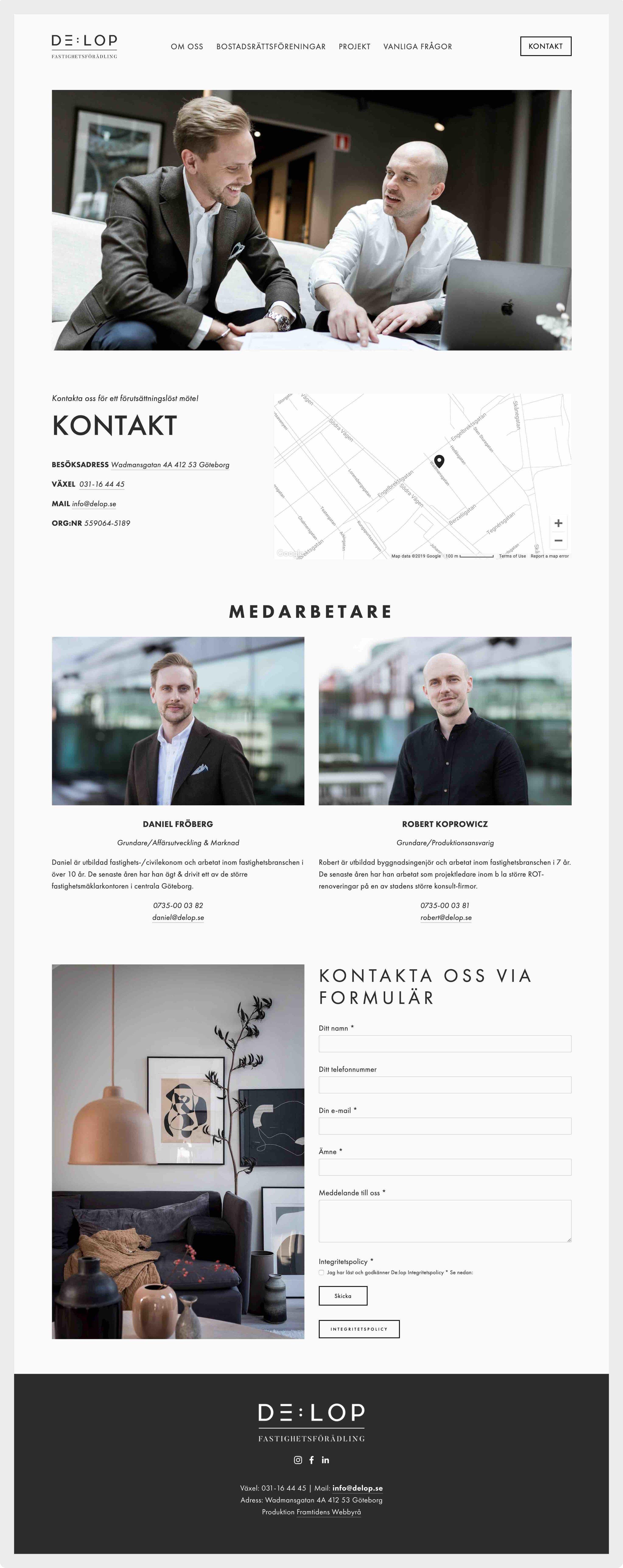 framtidens-webbyrå-hemsida-uppdrag-delop-kontakt