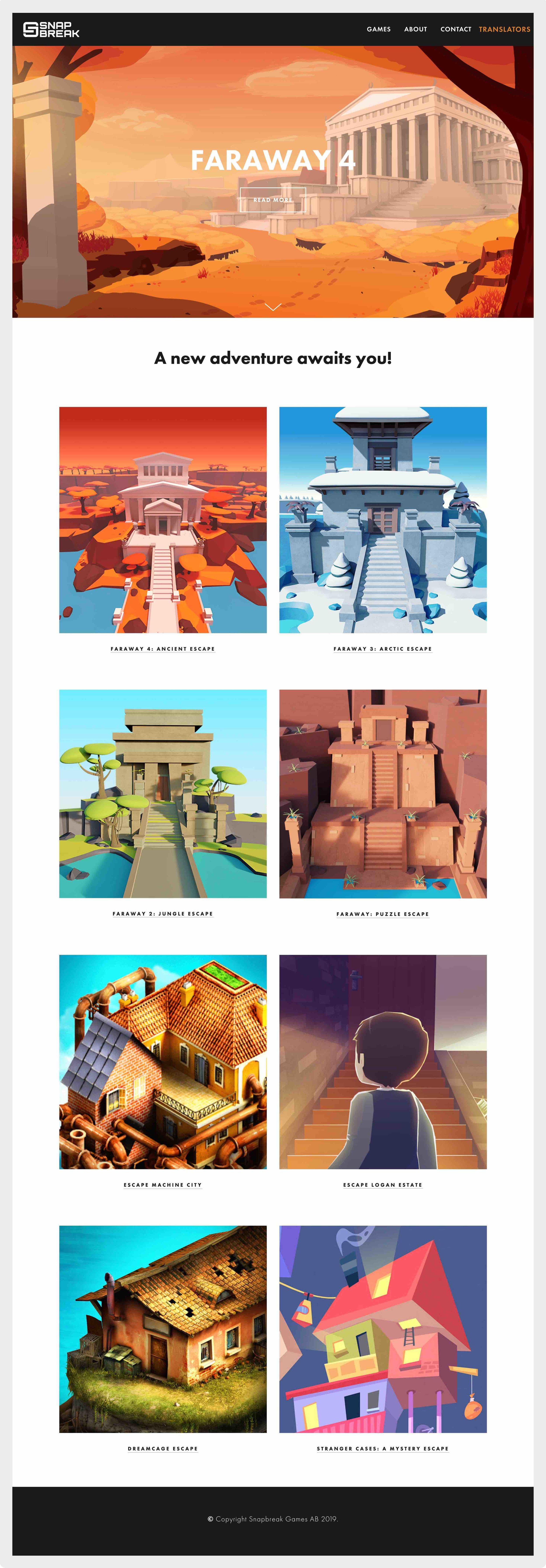 framtidens-webbyrå-uppdrag--hemsida-snapbreak-games-startsida