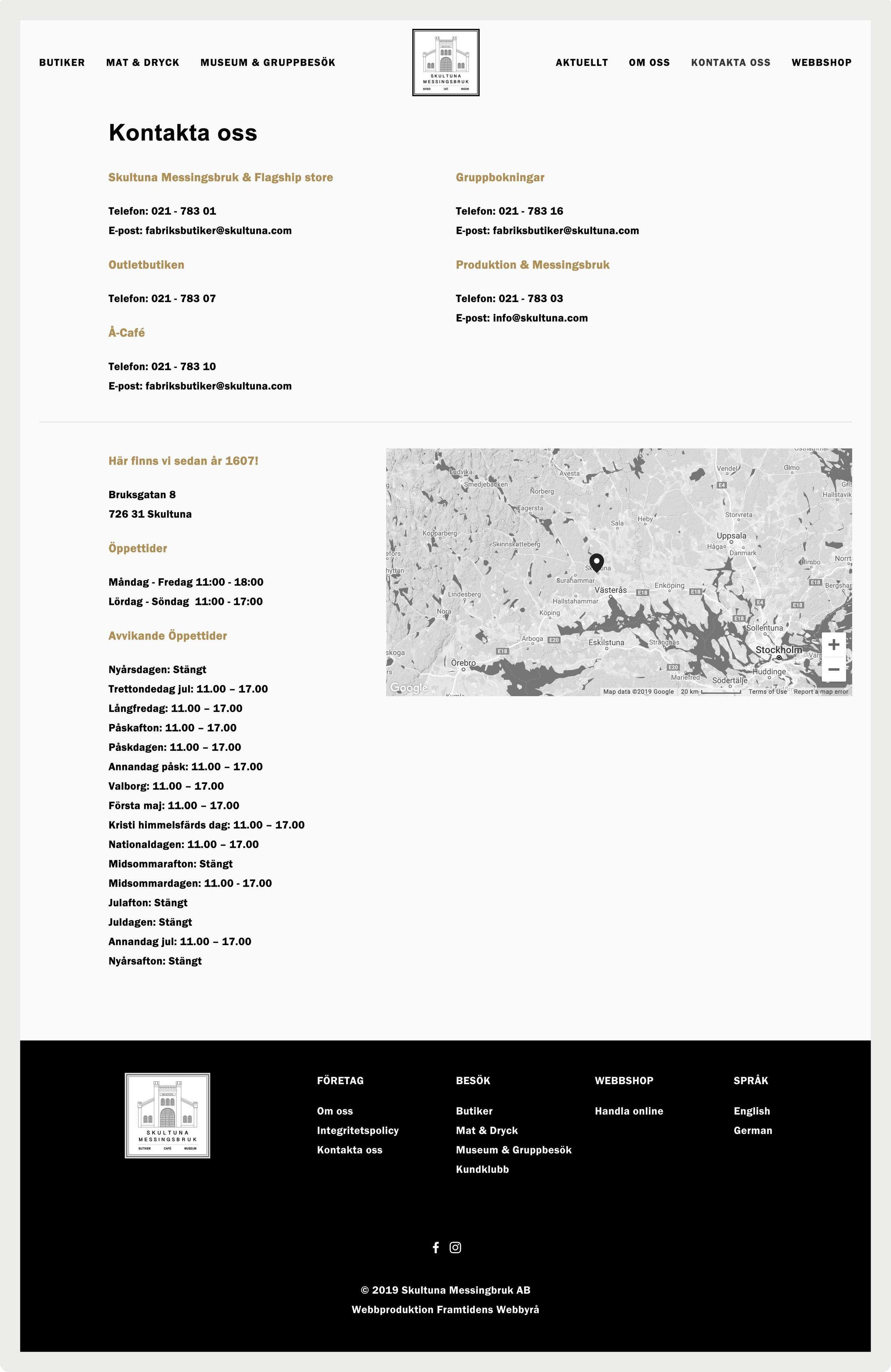 framtidens-webbyrå-webbplats-uppdrag-skultuna-fabriksbutiker-kontakta-oss