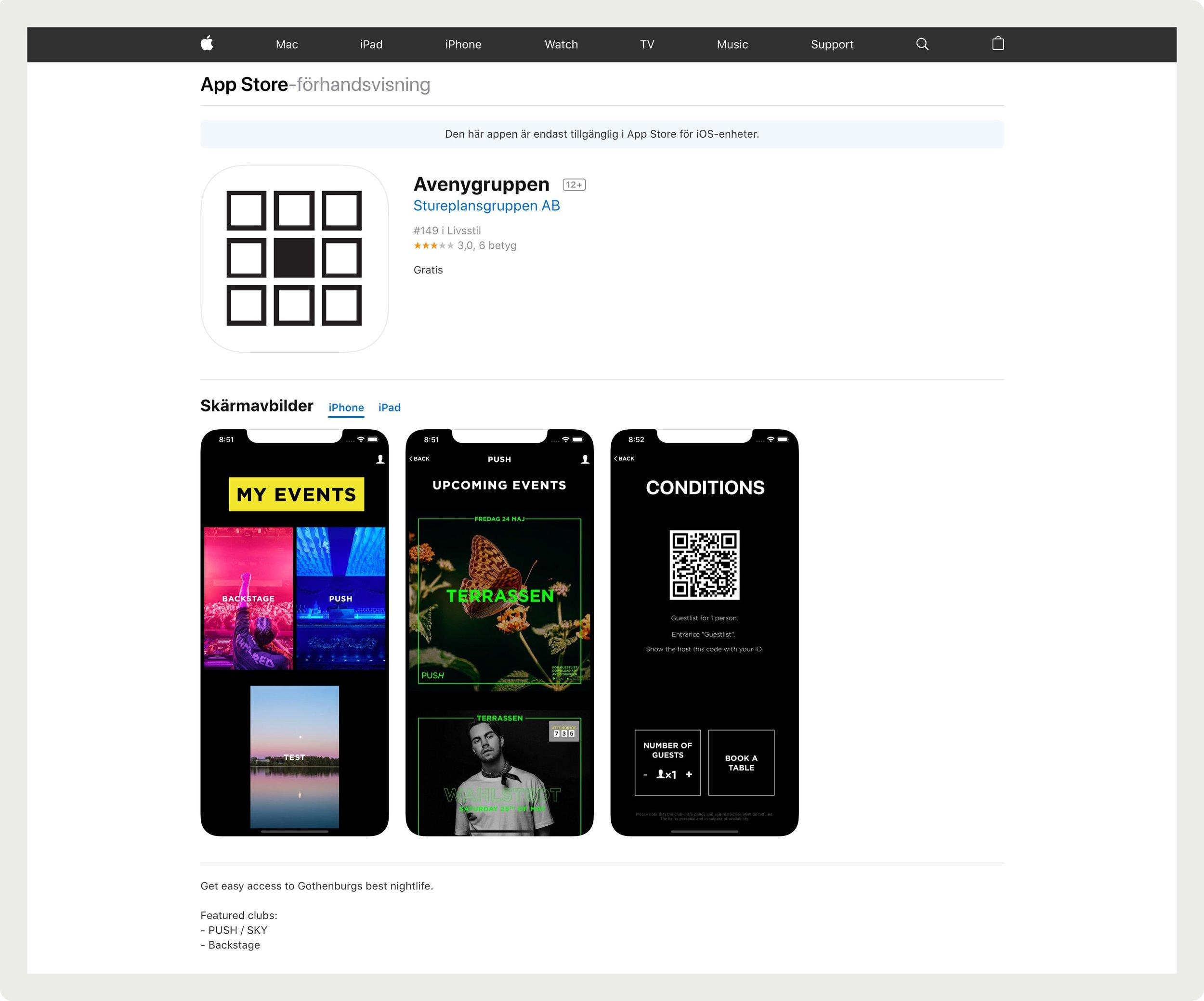 framtidens-webbyrå-uppdrag-push-hemsida-appstore