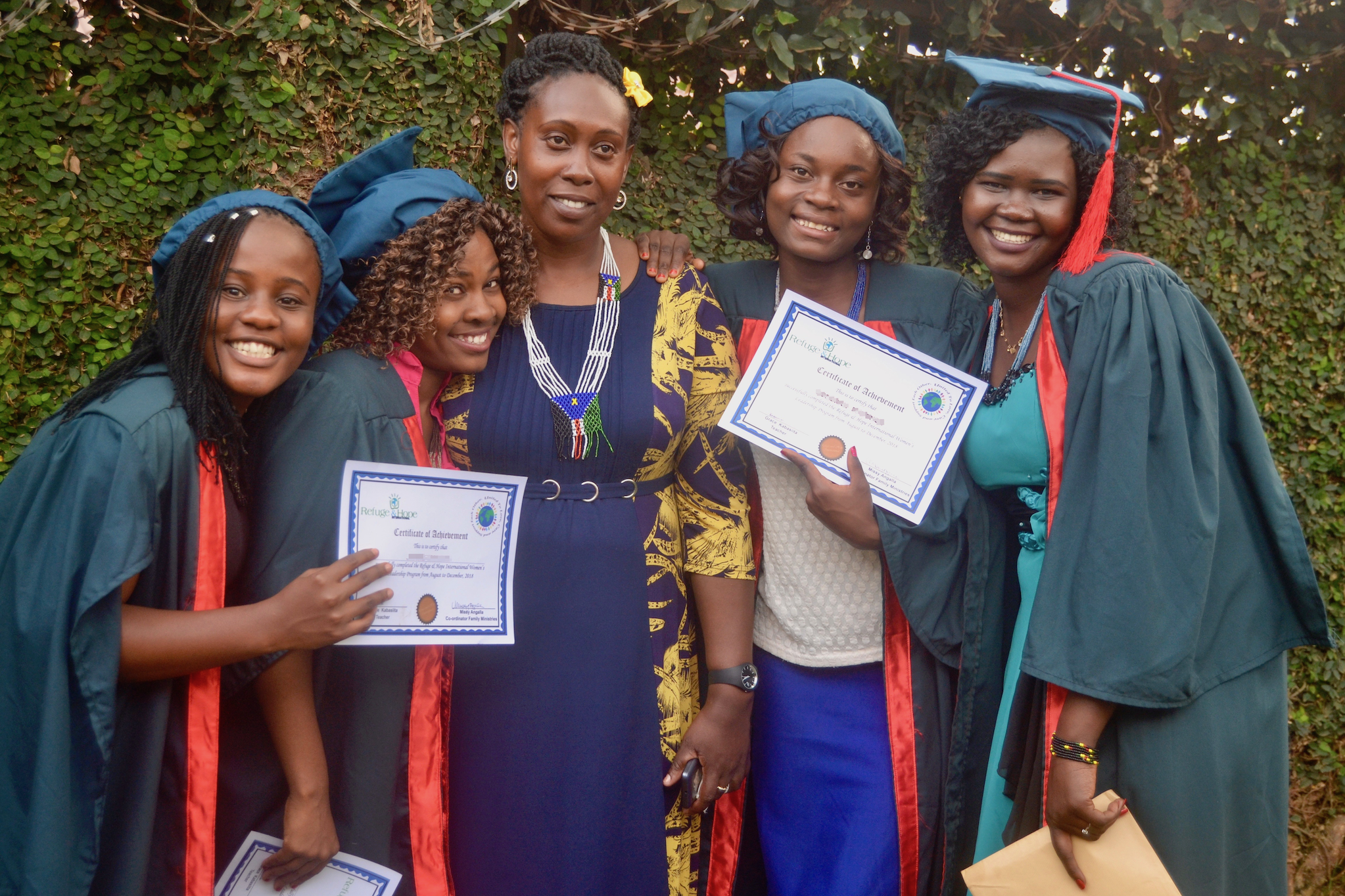 shelter graduation