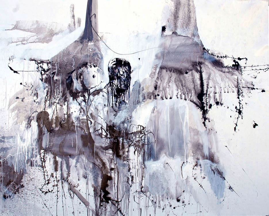 """Untitled"", 2011, Oil on canvas, 1 m  X 1,20  m"