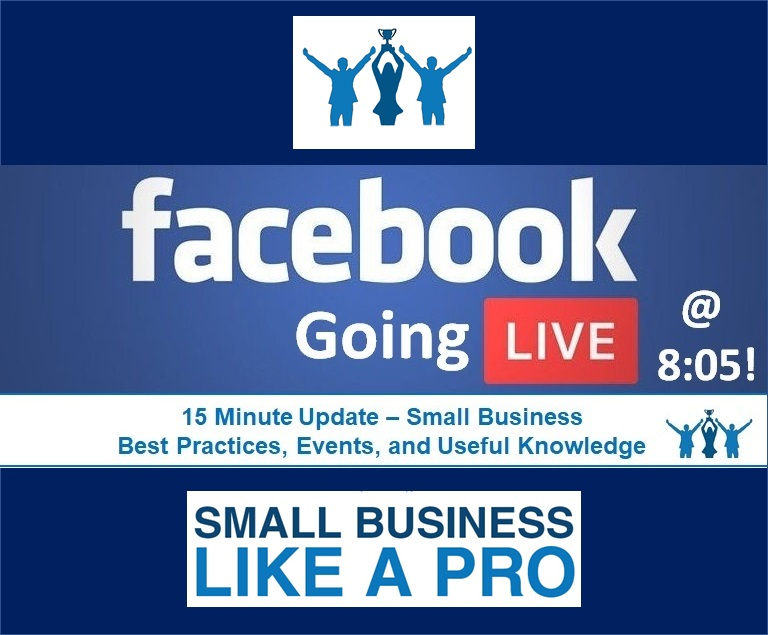 Going Live @ 8:05!