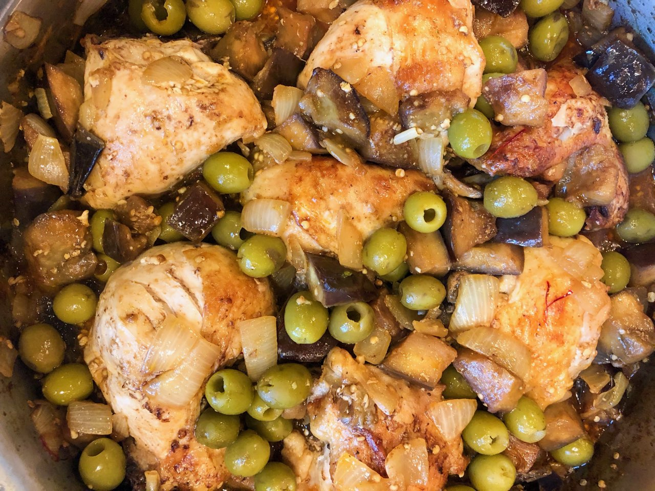 One Pan Moroccan Chicken