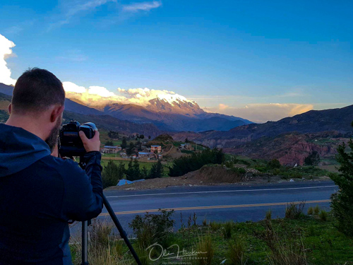 SHOOTIN MT. ILLIMANI