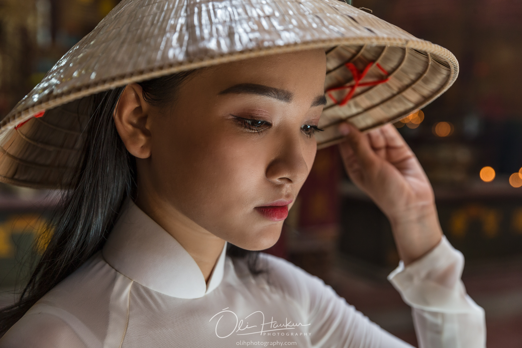 Arranged Model Shoots with beautiful 'Aodai' ladies