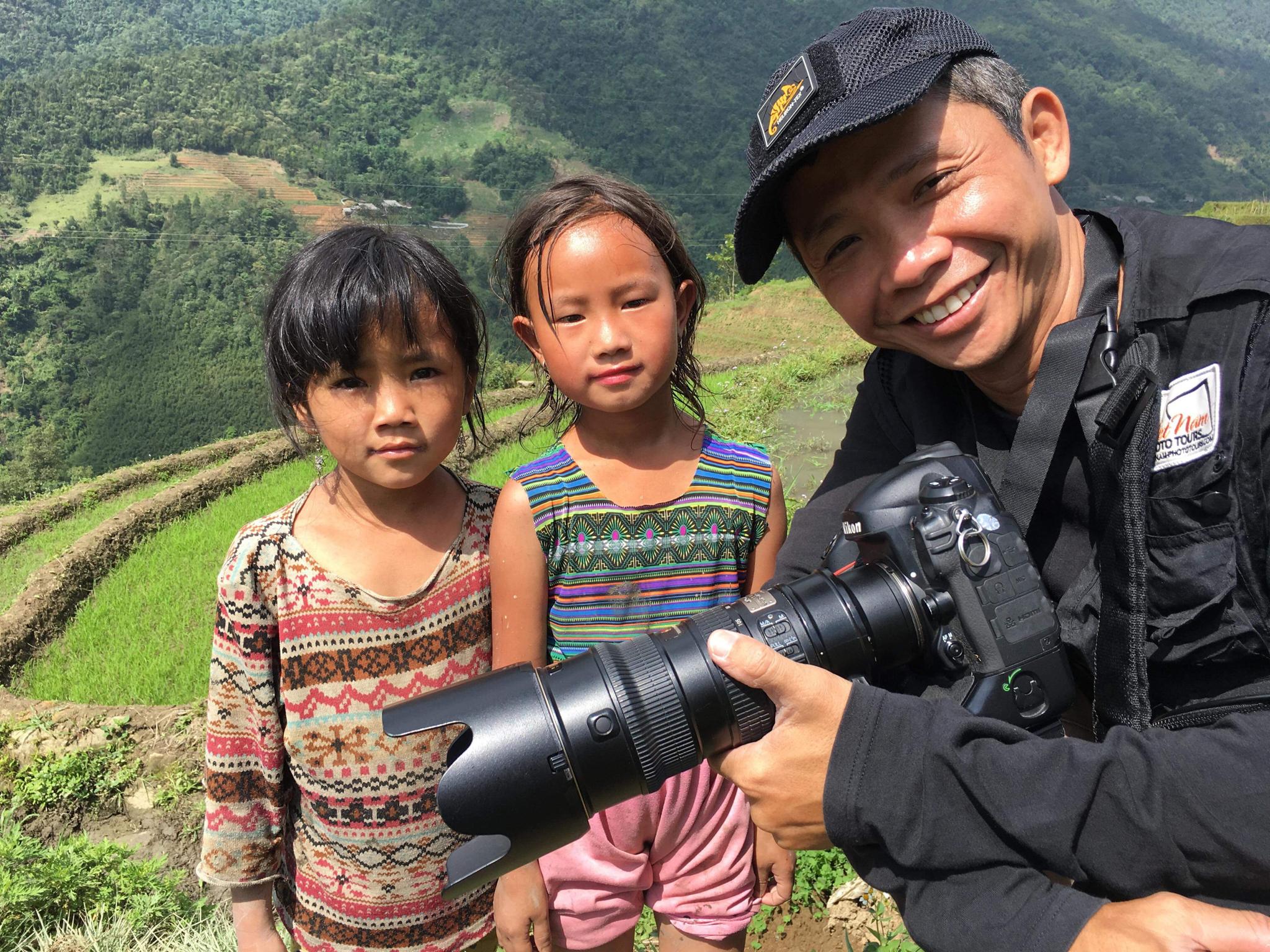 Kids in rural area of Vietnam