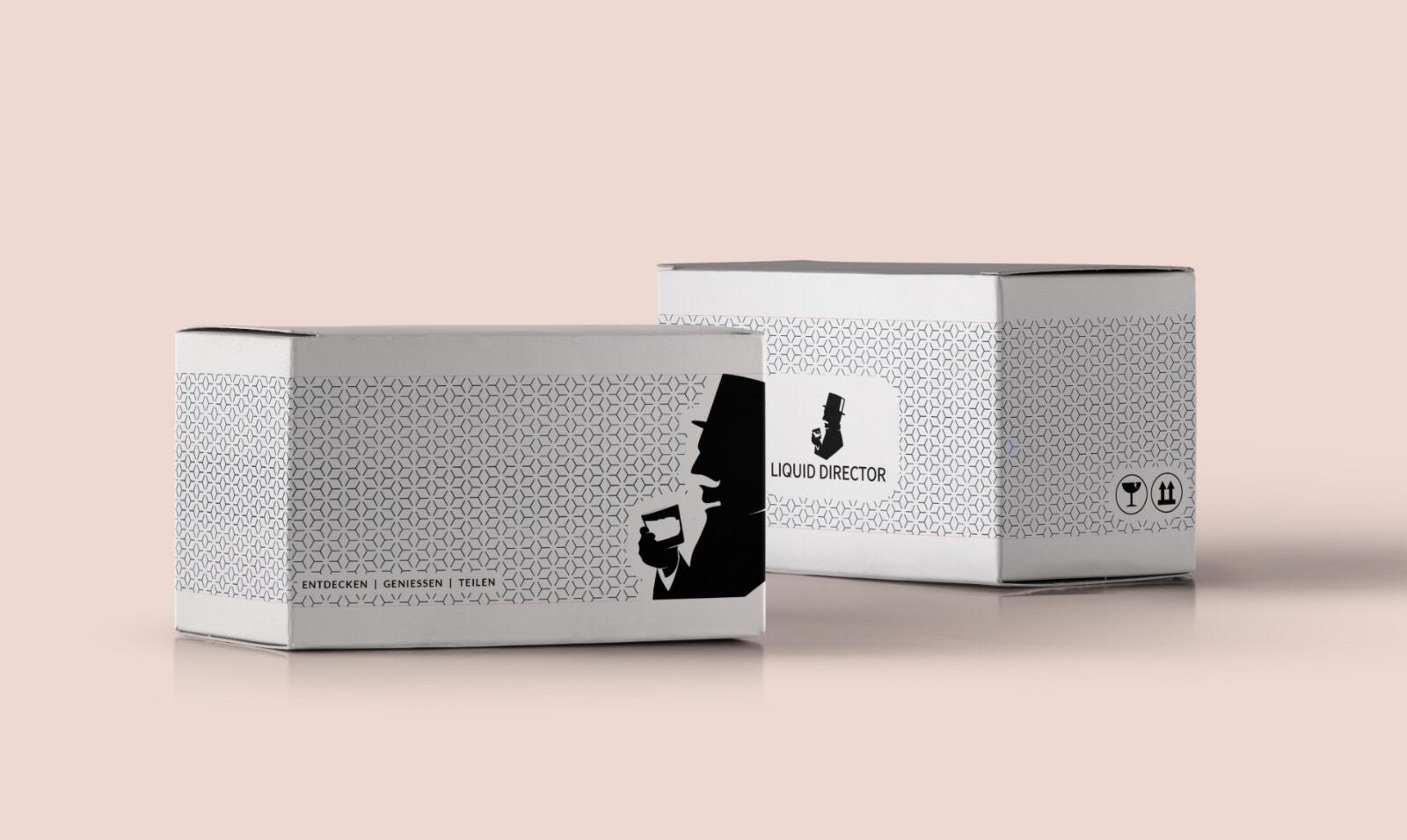 Packaging Design für Deutschlands Gin-Box