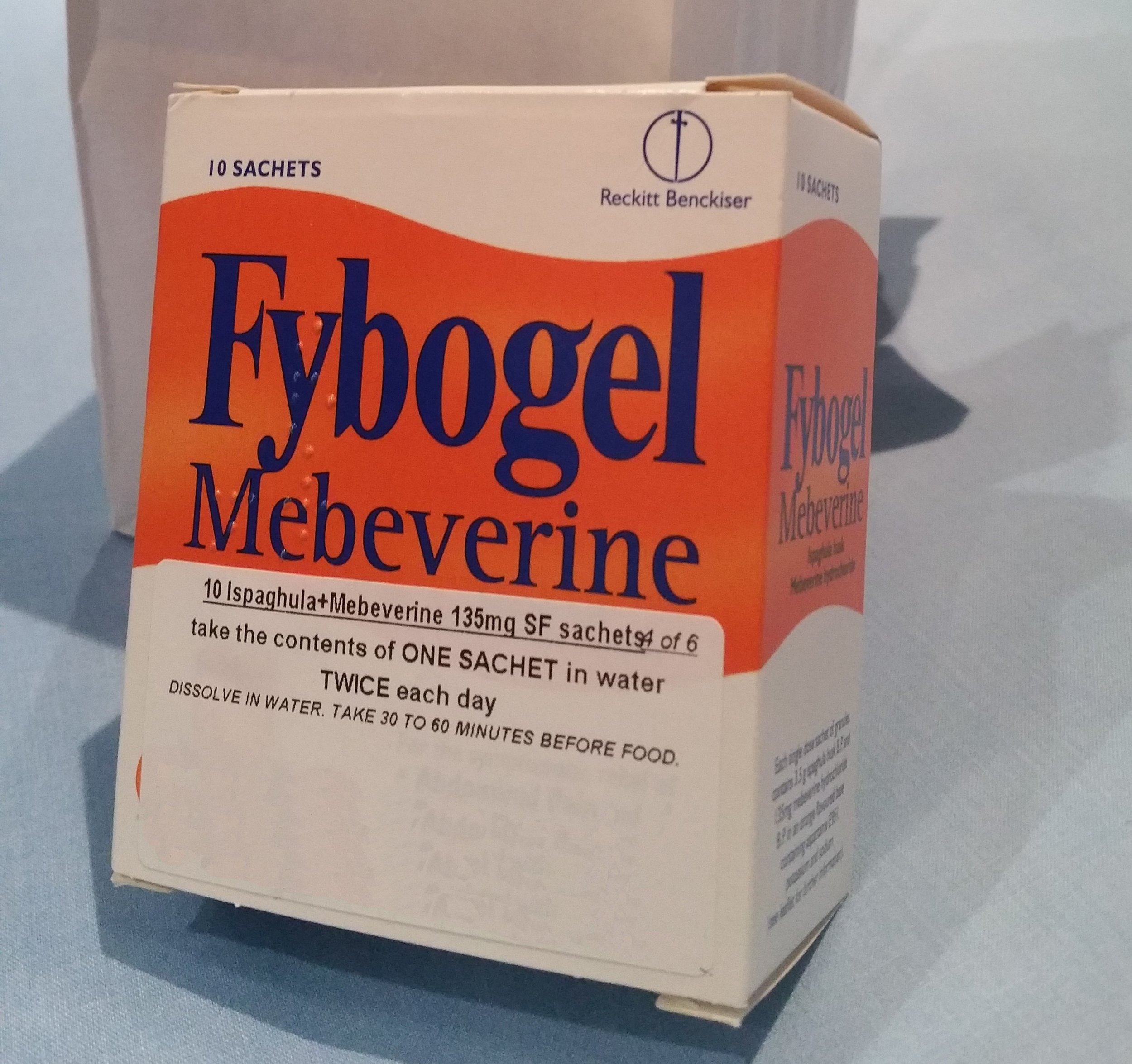 (Maybe he's born with it.) Maybe it's Mebeverine...  (Image: Bandidge)