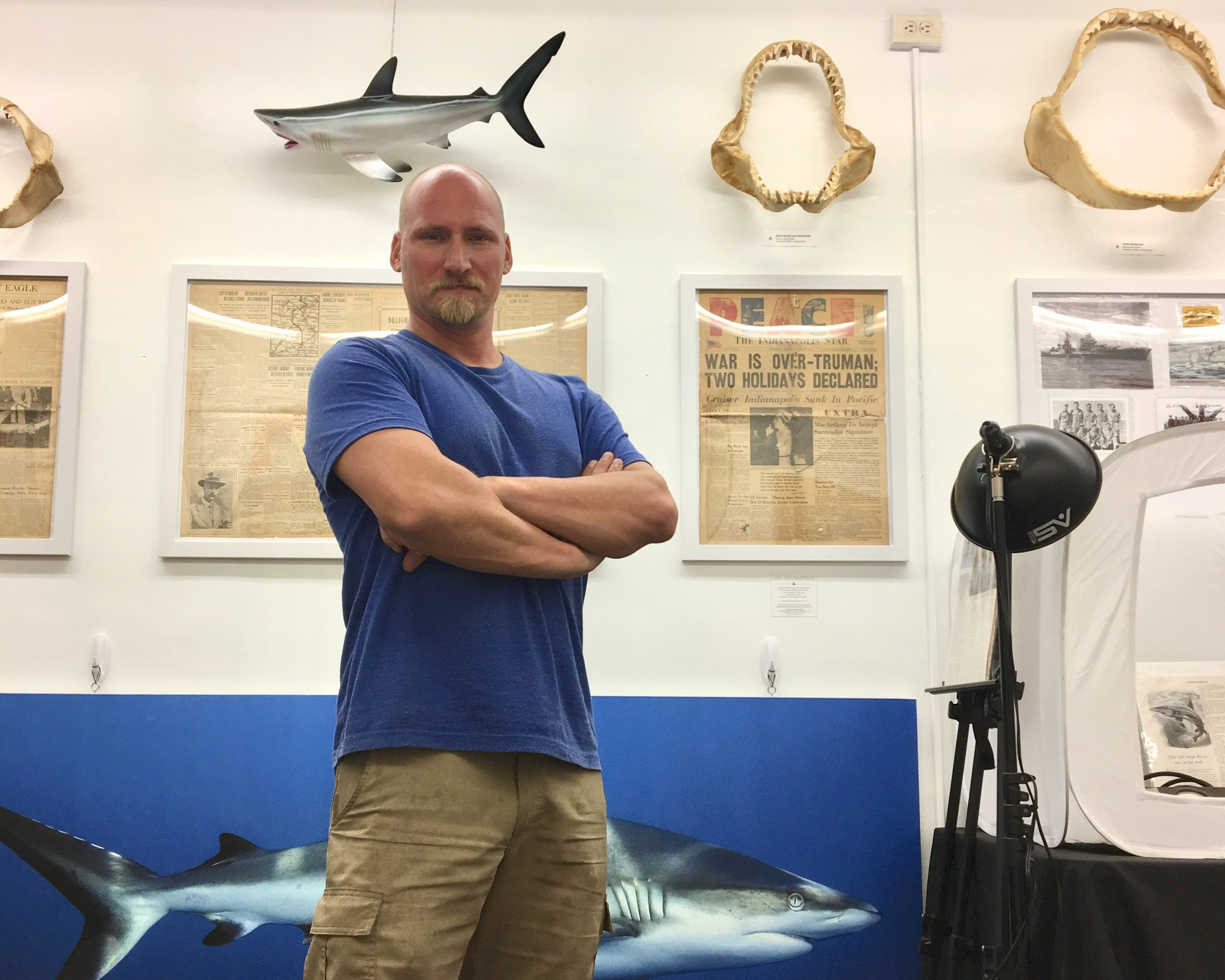 First Open Exhibition - Living Sharks Museum