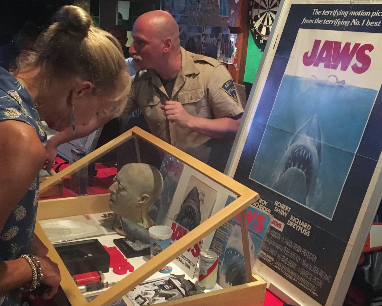Jaws Screening Exhibit at the Ocean Mist