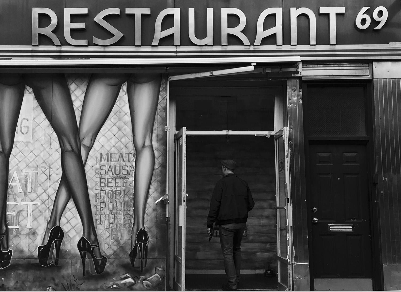 Restaurant 69, 2016. Donna Garcia.