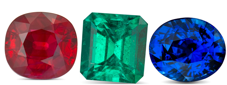 Ruby, Emerald and Sapphire