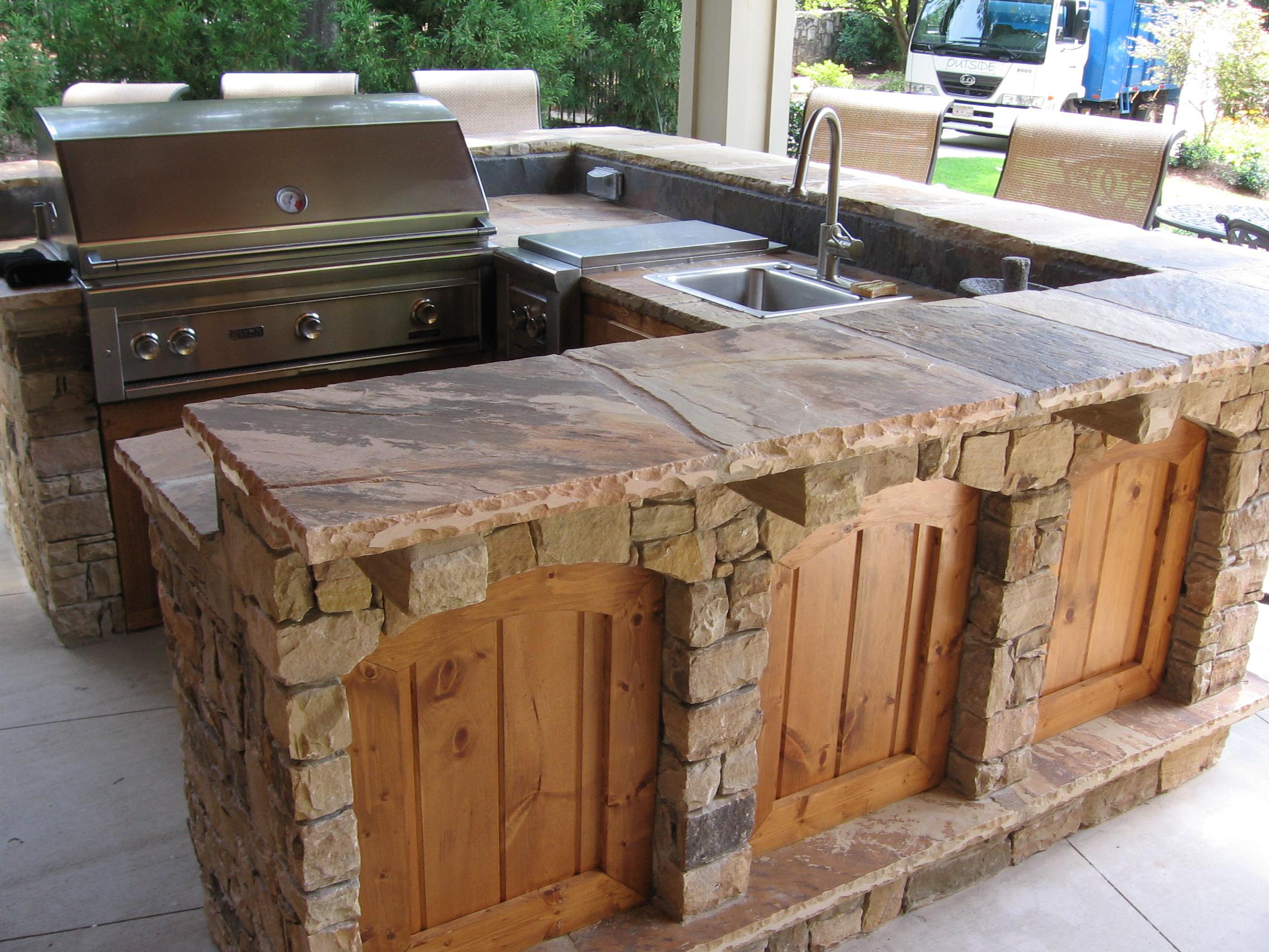 Outdoor Kitchen Design And Construction Alpharetta Atlanta Ga Outside Landscape Group Llc