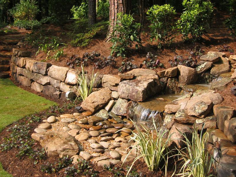 Backyard Water Feature Stones.jpg