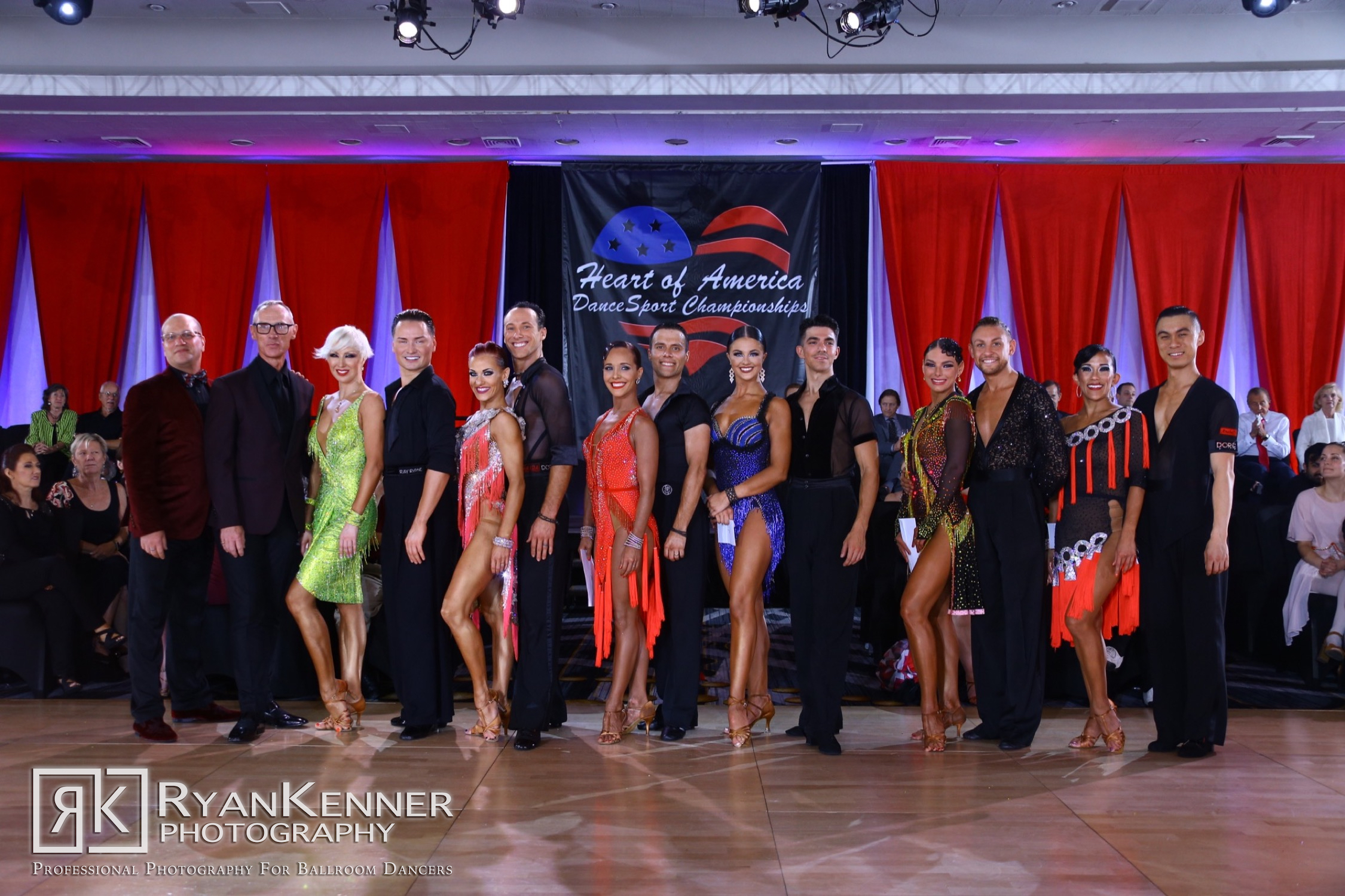 OPEN PROFESSIONAL - AMERICAN RHYTHM - Congratulations to our 2019 champions
