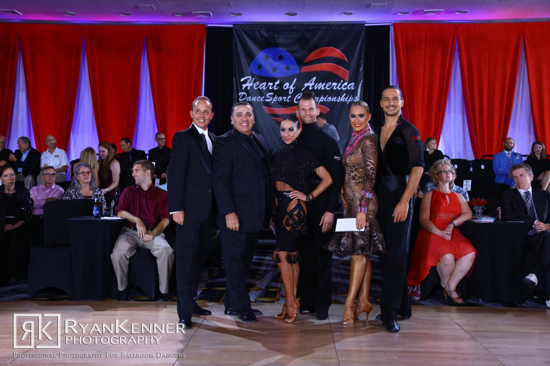 OPEN PROFESSIONAL - INTERNATIONAL LATIN - Congratulations to our 2019 champions