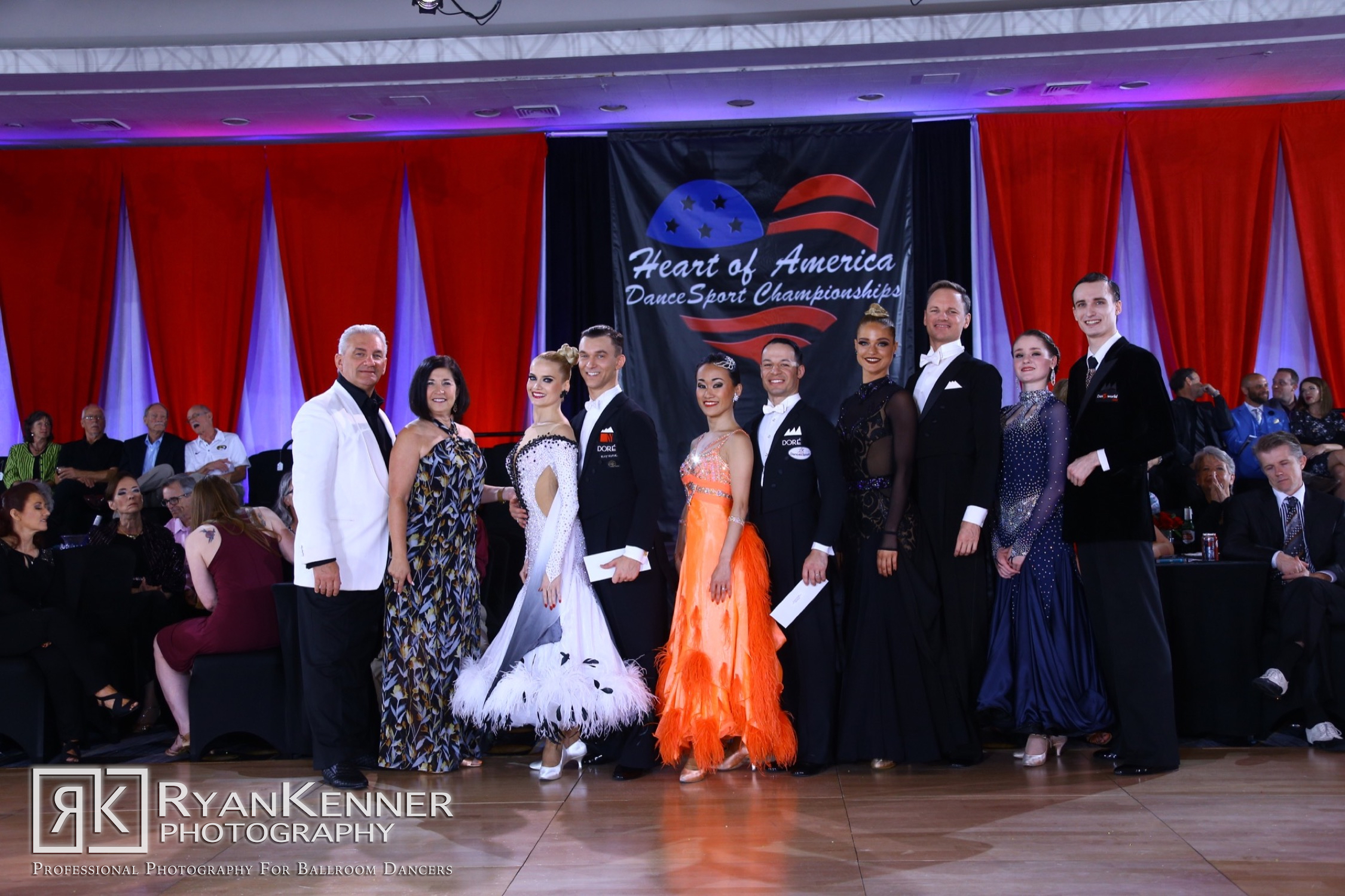 OPEN PROFESSIONAL - INTERNATIONAL BALLROOM - Congratulations to our 2019 champions
