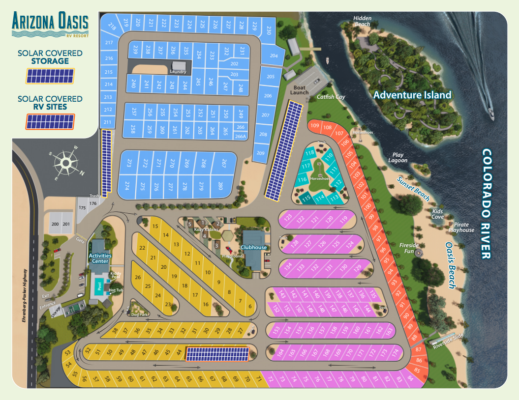 Two new storage sites at Arizona Oasis!