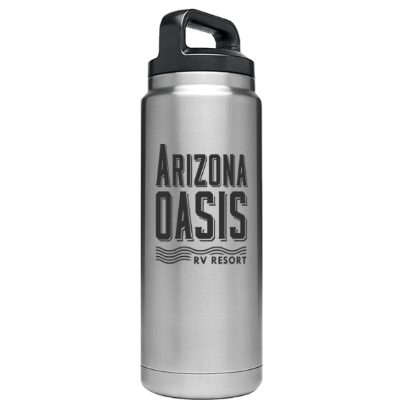 Bring A Friend - Everyone knows that a good friendship is priceless. So we're not putting a price on our Yeti bottle either! We're serious, we won't sell you one. But we will give you one free when you bring a friend who hasn't been to Arizona Oasis before.