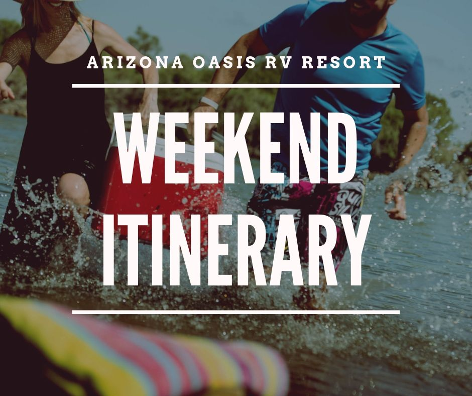 Plan the perfect weekend before you get here -