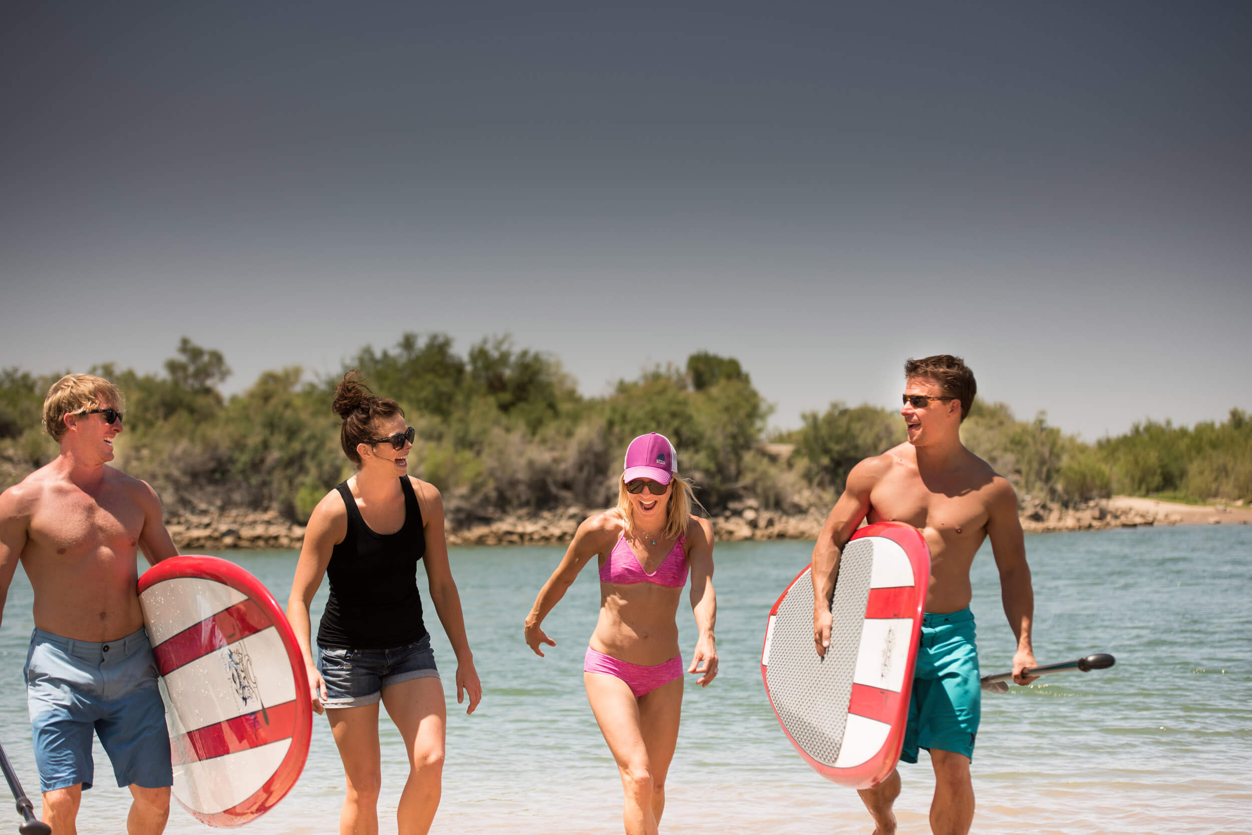 What You'll Need - Bring your own inner tubes, pick one up from a local store in Blythe or buy one from the Arizona Oasis front desk.Looking for an extra arm workout? Launch a kayak instead of a tube!Bring a paddle, or just relax as the current carries you.