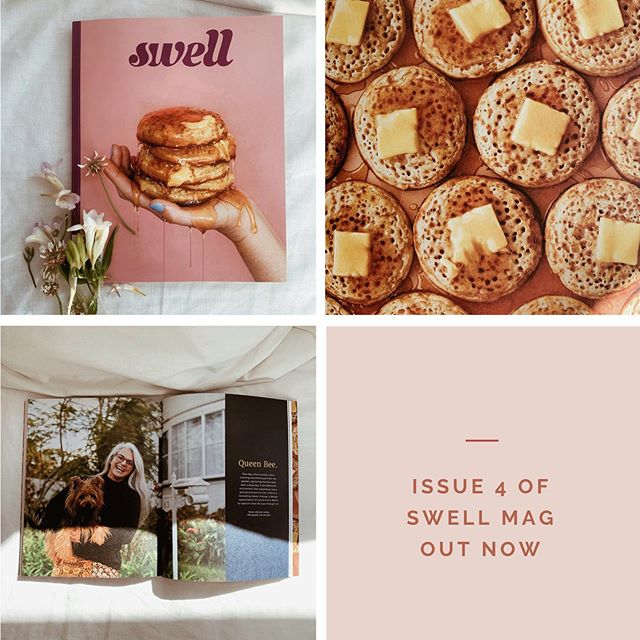 ✨NEW MAG✨ So chuffed to have contributed three articles to this *swell* magazine! Thank you to the many people I interviewed and to the A-team @swellmag for a chance to work with you again. ⁣ ⁣ Grab your copy online or in store! ⁣ ⁣ -Adrienne xx