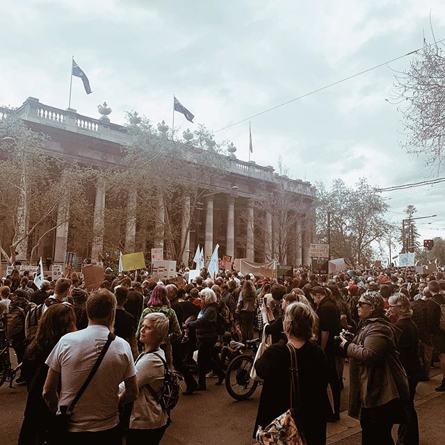 I was in Adelaide during the #climatestrike. I truly believe in the power of protest and standing up to have your voice heard. For me, eco-anxiety is real. But, I've found that turning my concern into action is a strong way to combat a feeling of powerlessness. 💪🏻🌏🌱💚 -Adrienne xx
