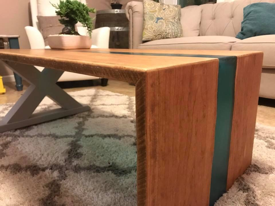 For the Love of Wood Handrafted Table