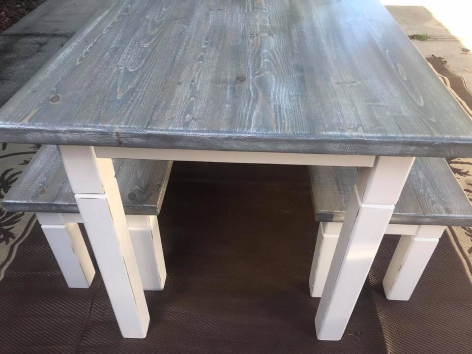 For the Love of Wood Handcrafted Table