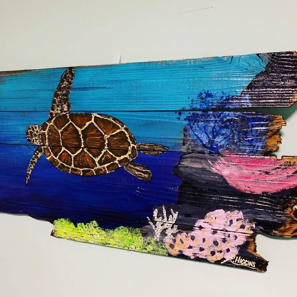 Local Sea Turtle Painting