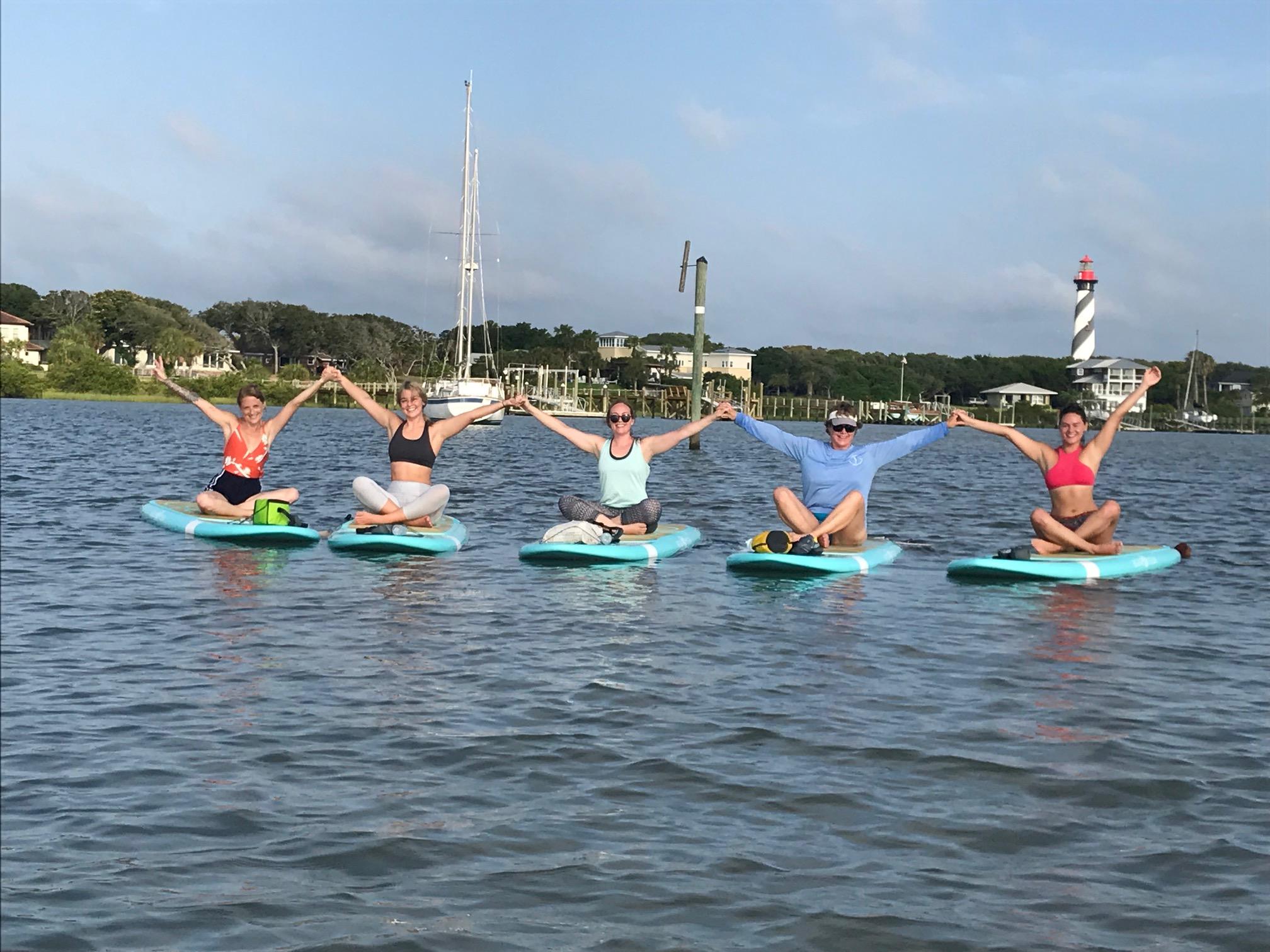 Koastal Paddleboard Yoga Group Connect