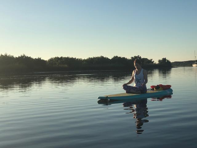 Koastal Paddleboard Yoga Morning Om