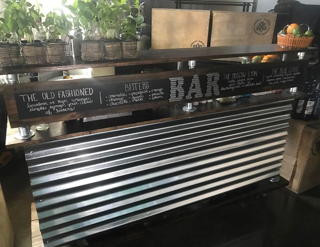 Handcrafted Bar