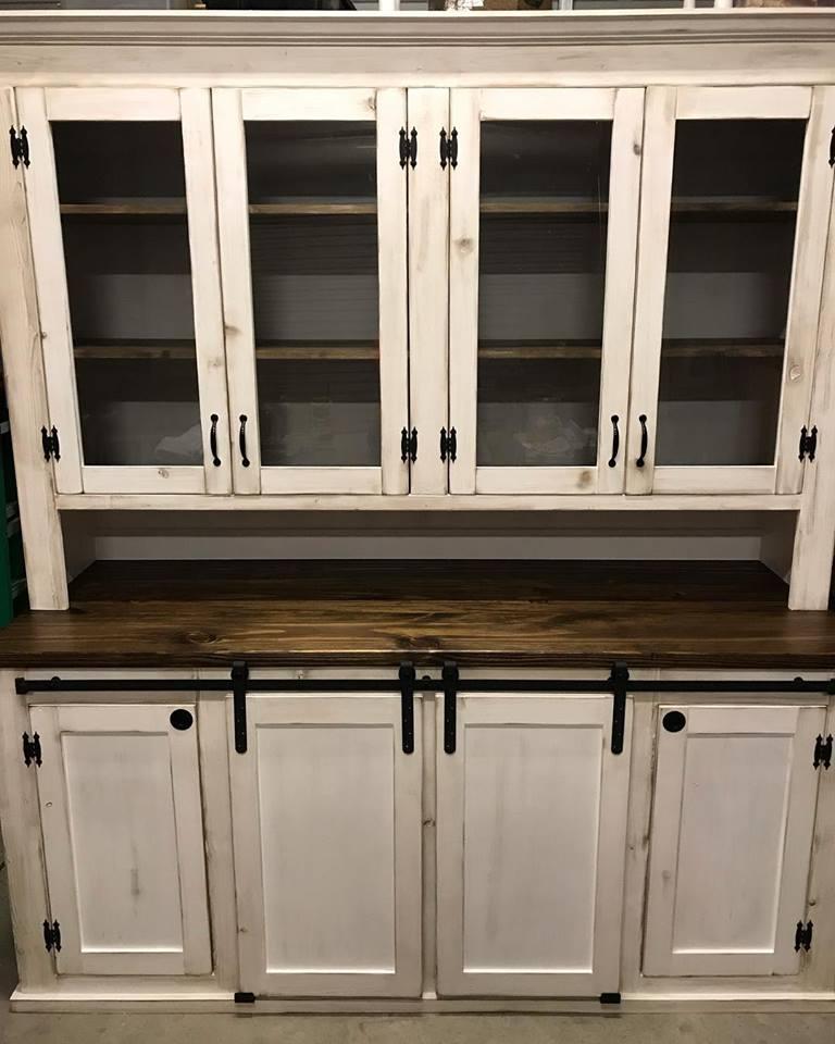 Custom Farm Cabinet