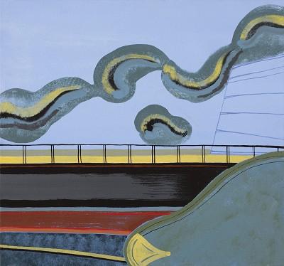 Westfield (144), acrylic on canvas, 42 x 45 cm, 2014