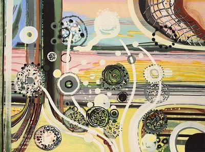 Angelica (300), acrylic on canvas, 90 x 120 cm, 2013-14