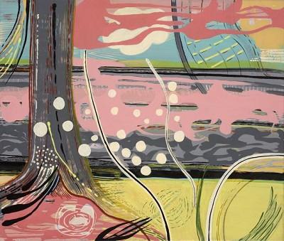 Angelica (1), acrylic on canvas, 50.8 x 60.9 cm, 2013