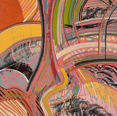 Holland Park (283), acr on canvas, 41.2 x 42 cm, 2013
