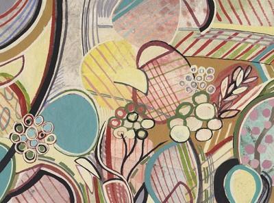 Spring (263), gouache, 15 x 10 cm, 2013