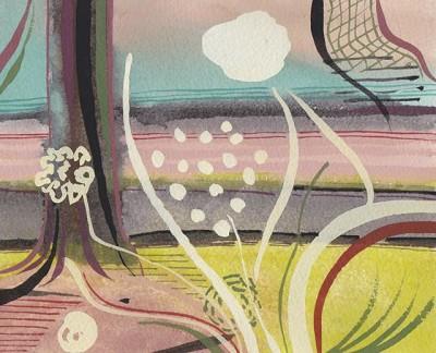 Landscape (279), gouache, 16 x 10 cm, 2013