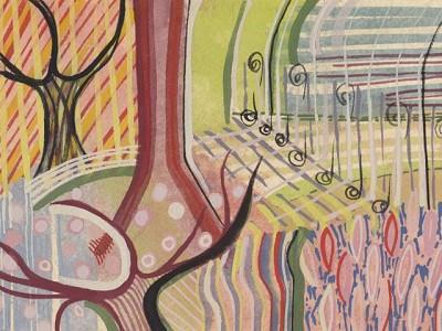 London Spring (264), gouache, 15 x 20 cm, 2013